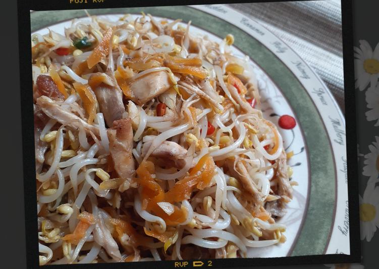 Bagaimana Membuat Tauge Goreng / Tumis Tauge ala Chinese Food, Bisa Manjain Lidah