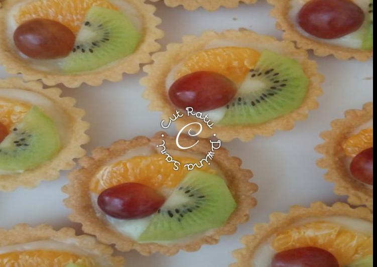Resep Fruit Pie/Pie Buah mini anti gagal! Terbaik