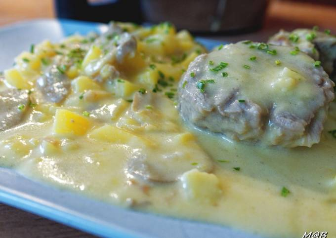 Filet mignon sauce moutarde au Cook Expert