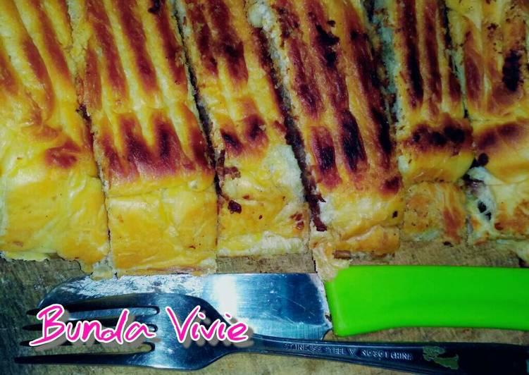 Roti Bakar ala kaki Lima 😅