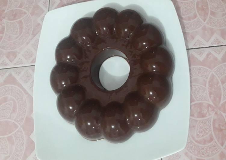 Agar-agar brownies