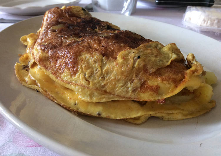 Recettes Omelette aux pommes de terre nouvelles et tomates confites