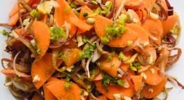 Hình ảnh món Nấu ăn cùng con: Gỏi hoa chuối cà rốt