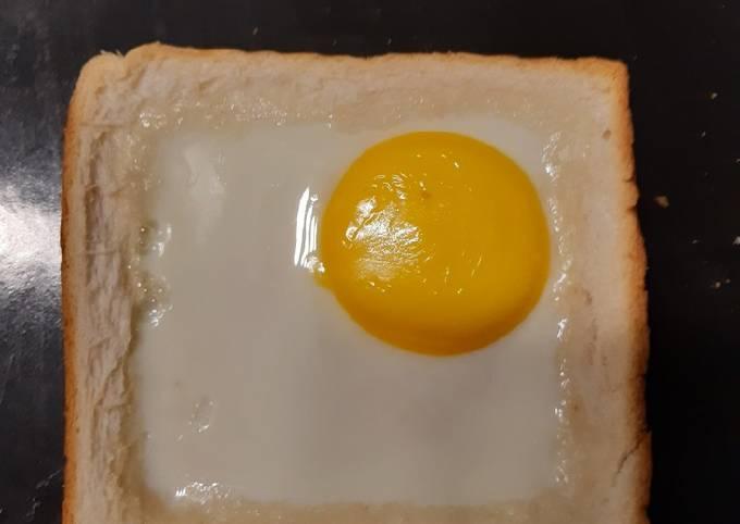 Roti bakar telur mata 🍳🍳