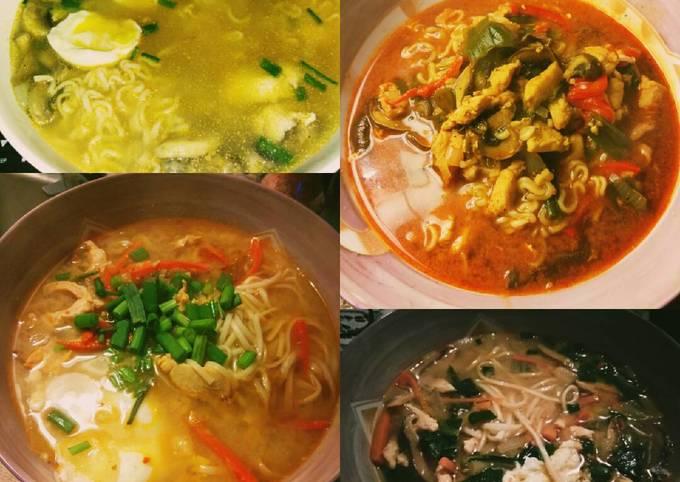 Homemade Spicy Miso Ramen