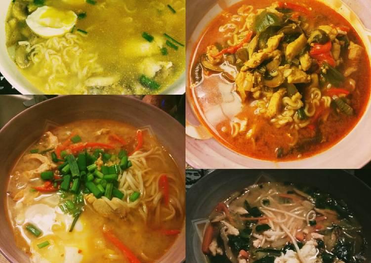 Recipe: Perfect Homemade Spicy Miso Ramen