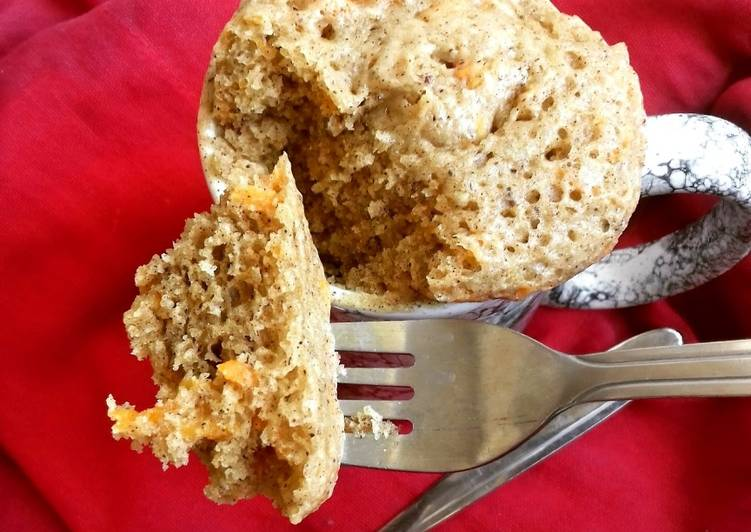 Recipe of Homemade Carrot Cake Mug Cake #mugcakeweek