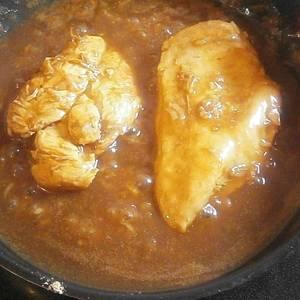 Pechuga de pollo a la coca cola