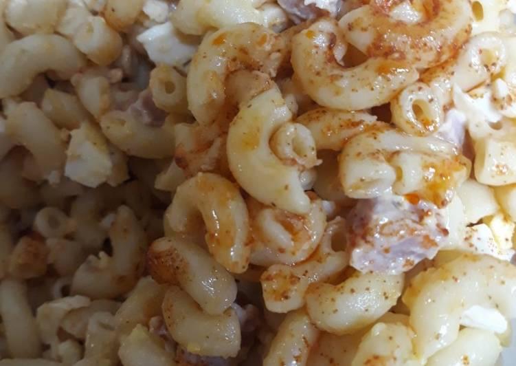 Aryca's Macaroni and Ham Salad