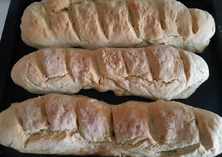 Barra de pan en Thermomix