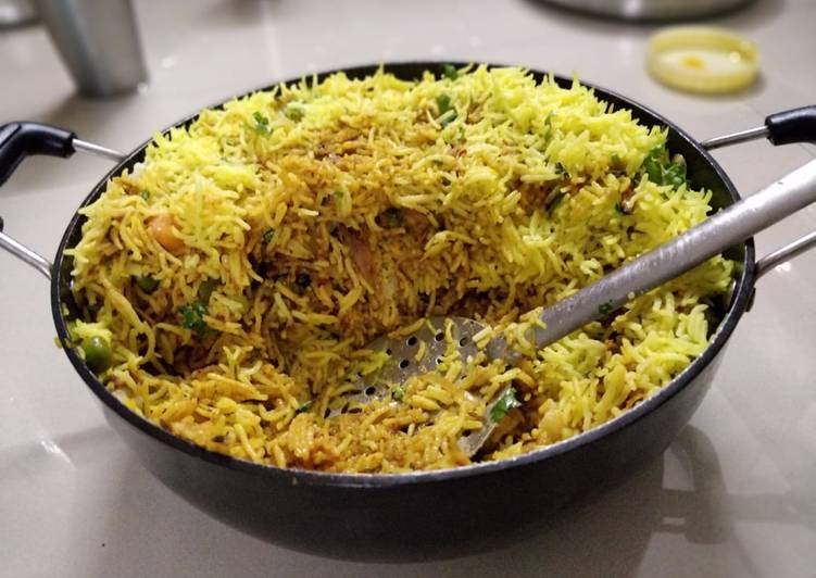 Old Fashioned Dinner Easy Quick Masala Rice