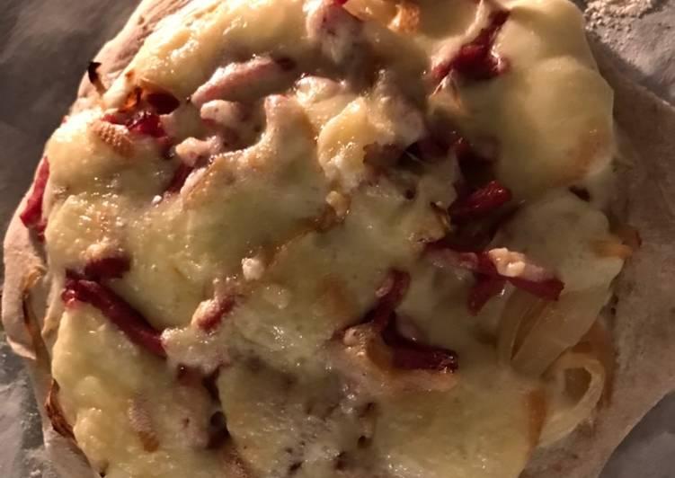 Pizza façon raclette – Eating Well Cookbooks