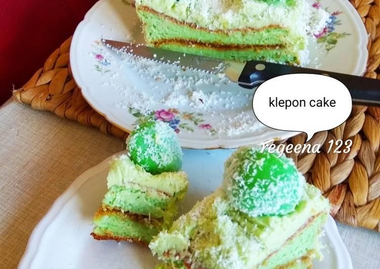 Mini klepon 🍰 cake