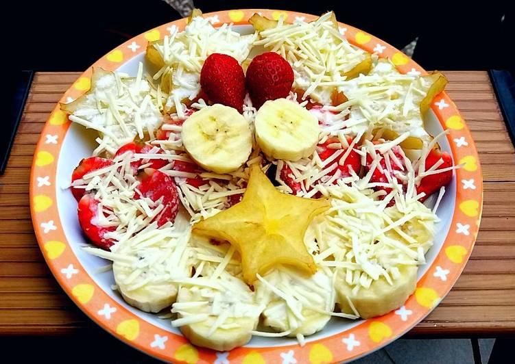 570. Salad buah simple - cookandrecipe.com