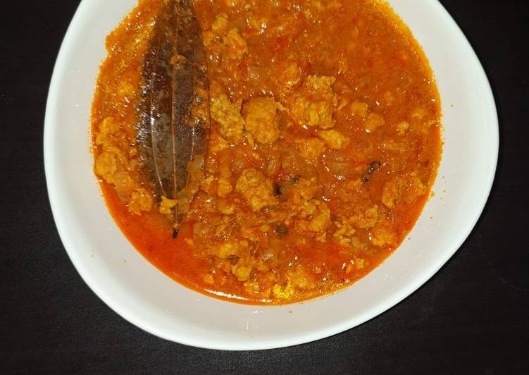 Minced Chicken Curry