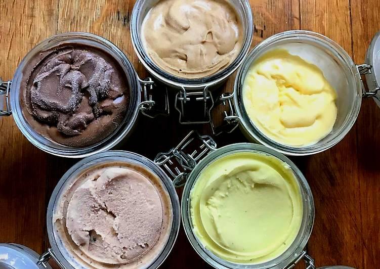 Easiest Way to Make Quick Ice cream five ways