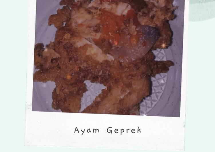 Ayam Geprek 🍗🌶