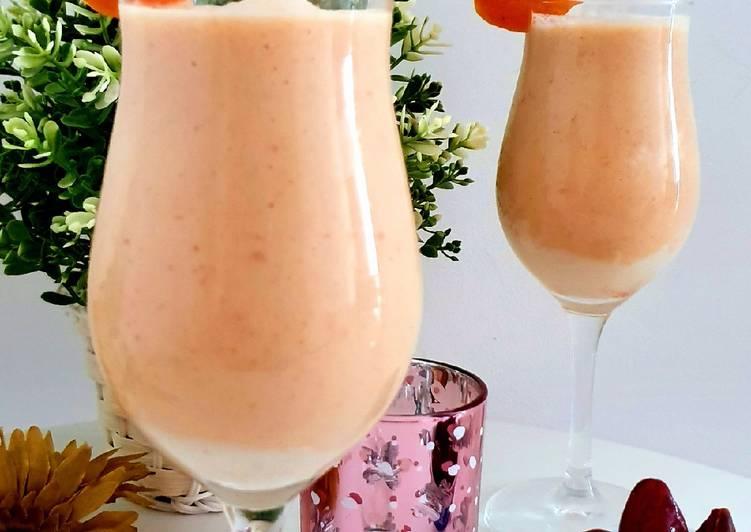 Dates Apricot Smoothie.. #summerchallenge3