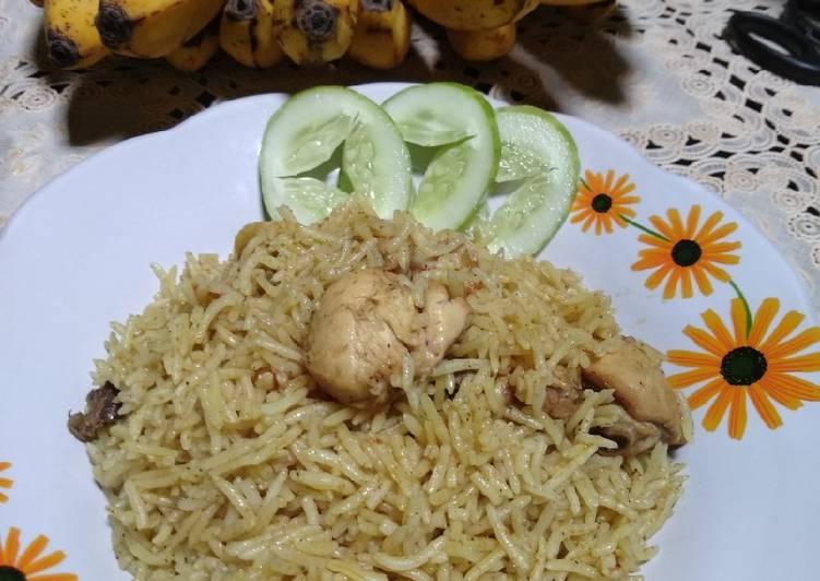 (7) Nasi Briyani Simple