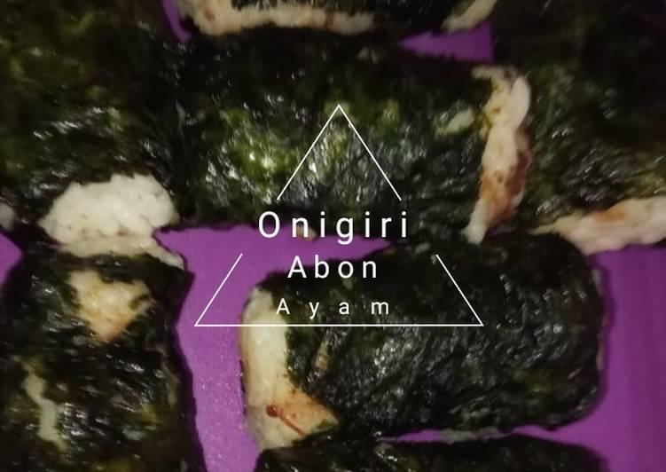 Onigiri Abon Ayammm