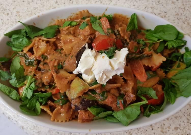 My Italian Blend, Beef & Veg & Pasta Bows. 😁