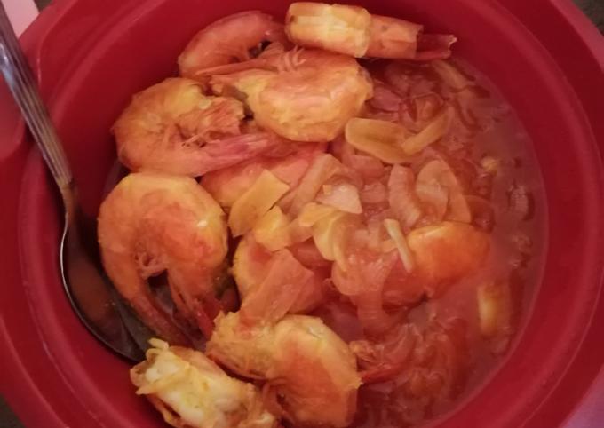 Udang masak sos