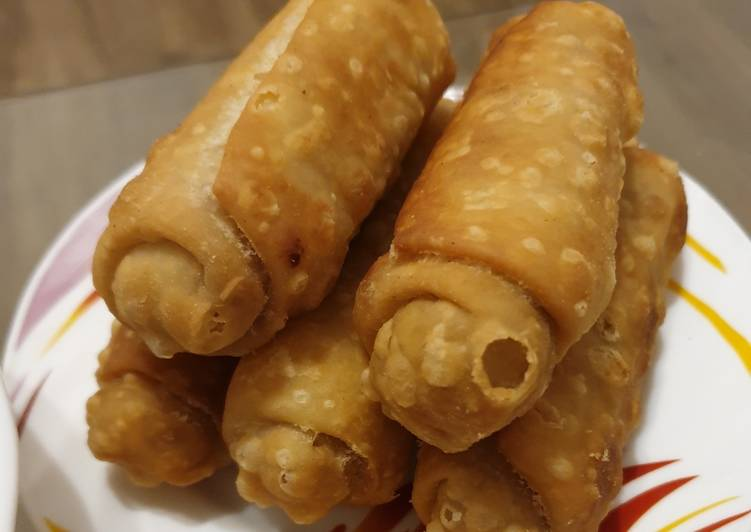 Paneer Cigars (Cottage Cheese Cigars)
