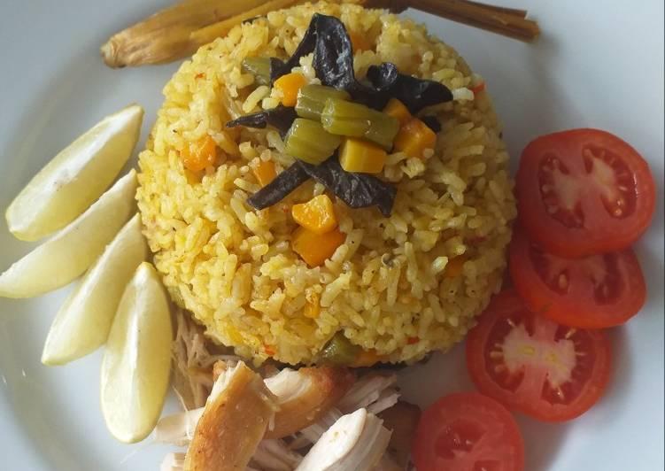 Nasi Kebuli Ayam & Sayuran