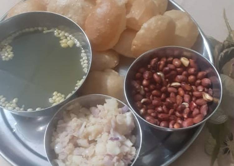 Going Green for Better Health By Consuming Superfoods Pani Puri Recipe