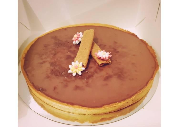 La Meilleur Recette De Tarte croustillante chocolat