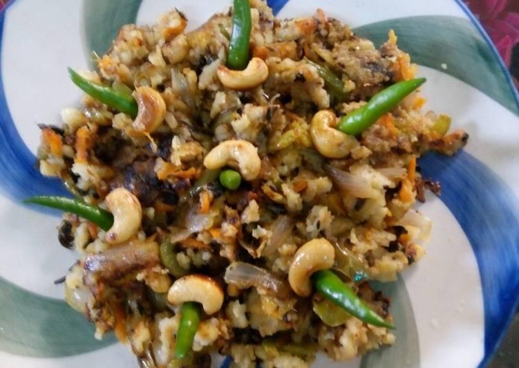 Recipe of Speedy Nutty Mixed Namkeen
