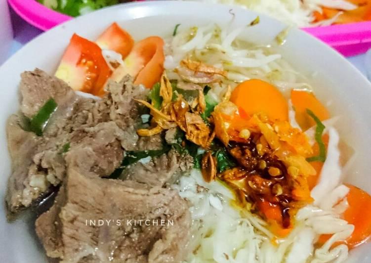 Resep Sop Kerbau Khas Kudus Oleh Indy S Kitchen Cookpad