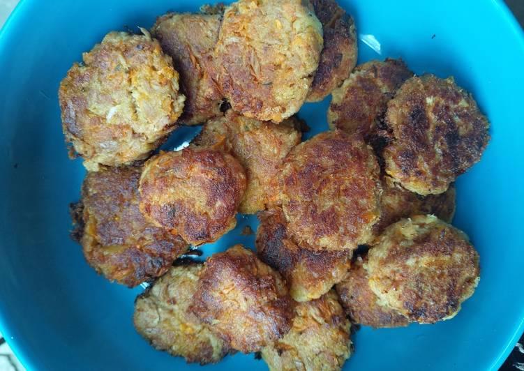 Easiest Way to Prepare Favorite Tuna fish frikkadel