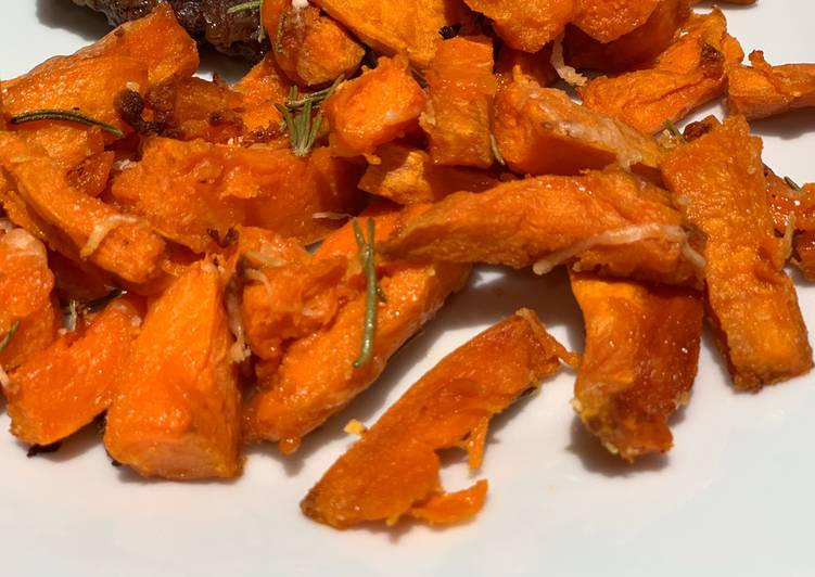How to Prepare Super Quick Homemade Sweet Potato Fries