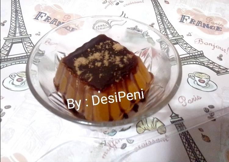 resep cara mengolah Puding Nutrijel Tabur Milo