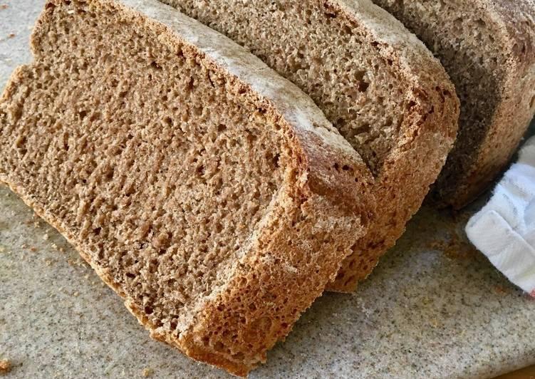 Sourdough Wholemeal Loaf 🍞🐾