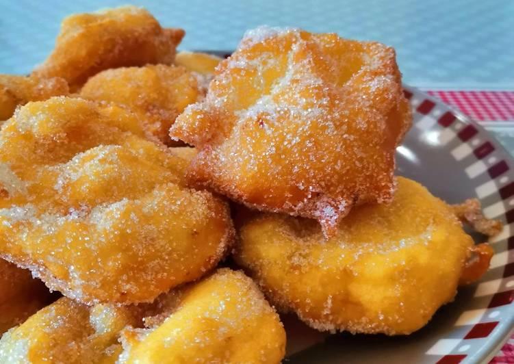 Les beignets aux pommes de mardi gras