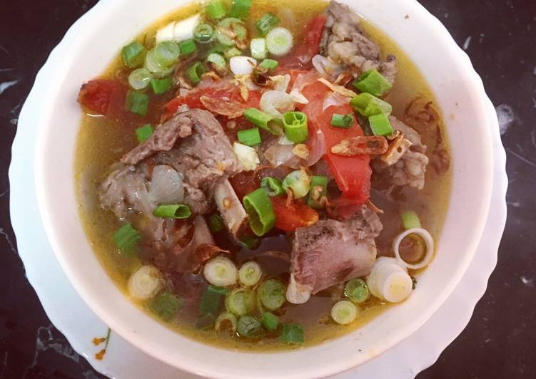 MUTTON SOUP (sup kambing)