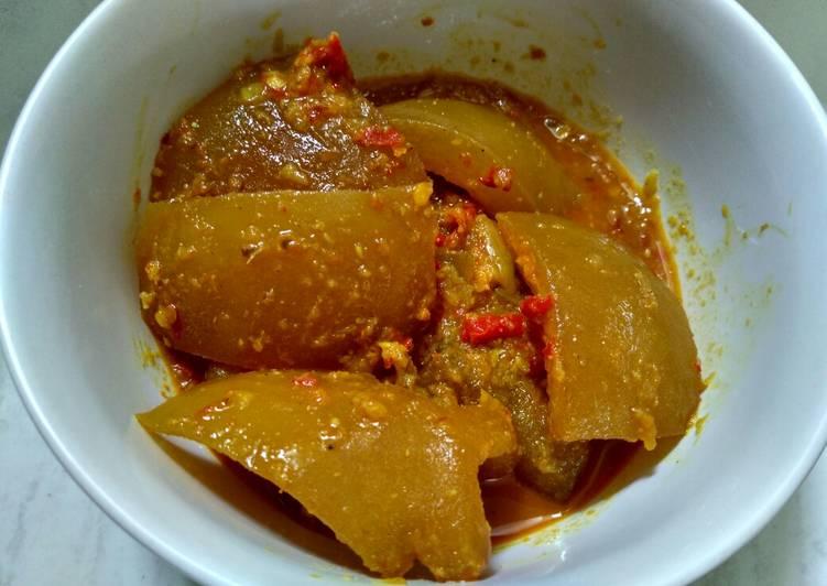 Rendang Kikil Sapi - cookandrecipe.com