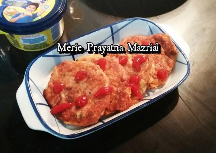 Omelette Korned Keju Jamur
