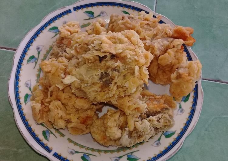 Ayam kentaky ala rumahan