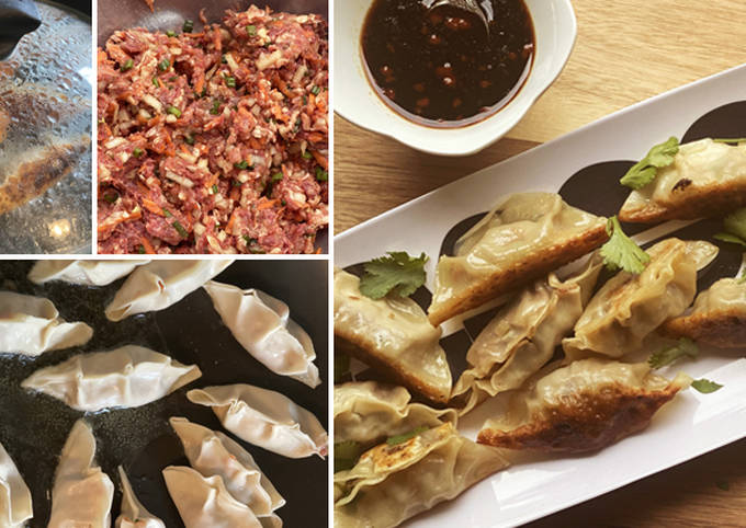 Wagyu Beef Gyoza with Soy Dipping Sauce