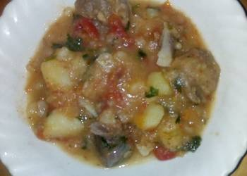 How to Make Tasty Goat meat with potatoes4weekschallenge