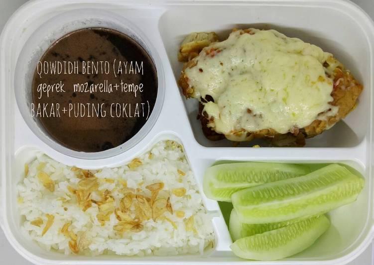 Ayam geprek mozarella / keju leleh