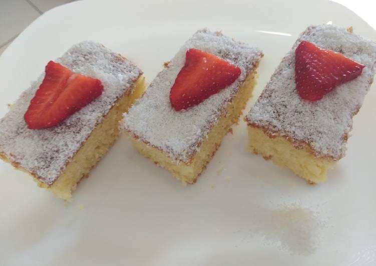 Recette: Savoureux Gâteau yaourt et noix de coco