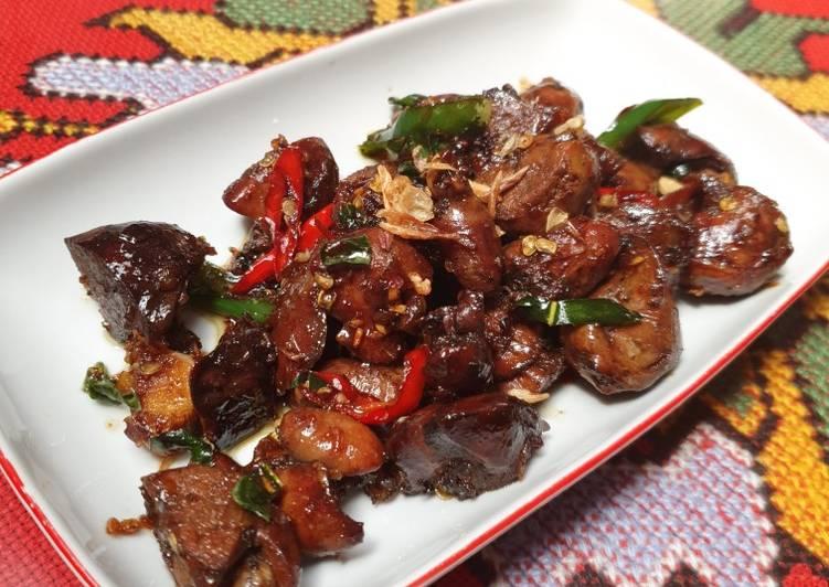 Resep Oseng Ati Ayam Yang Simple Lezat