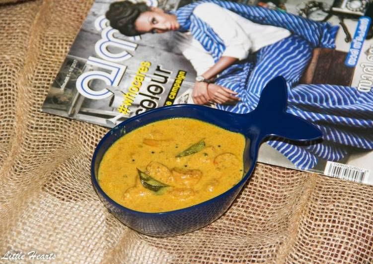 Malabar Style Prawns Curry Deciding on Healthy and balanced Fast Food