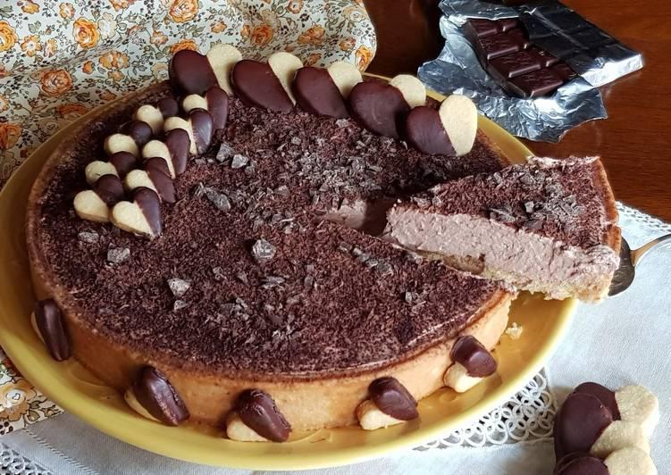 Ricetta Crostata Tiramisù con scaglie di cioccolato #lavideoscuoladicookpad