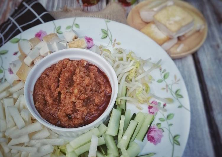 Kuah kacang udang kering