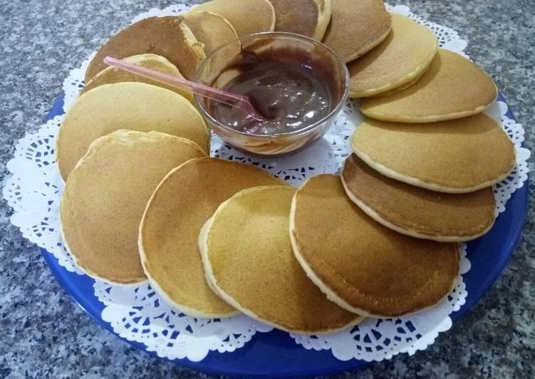 Facile Pas Cher  Pancake à la semoule